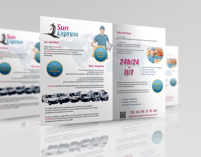 Plaquette commerciale - Graphisme et création de sites internet