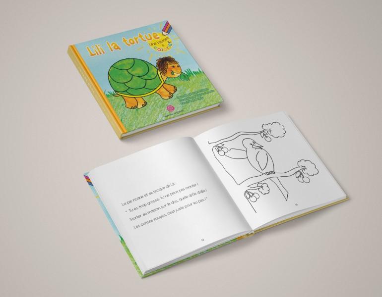 Livre pour enfants - Graphisme et création de sites internet