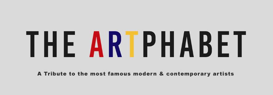 Les 26 Lettres De L Alphabet Selon Le Style D Artistes Celebres